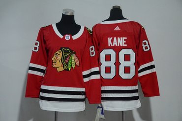 Youth Blackhawks 88 Patrick Kane Red Youth Adidas Jersey