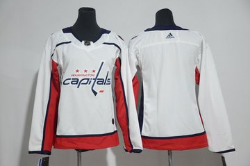 Youth Capitals Blank White Youth Adidas Jersey