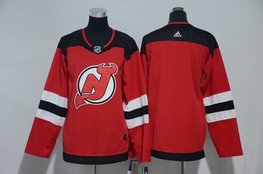 Youth Devils Blank Red Youth Adidas Jersey