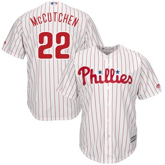 Youth Philadelphia Phillies #22 Andrew McCutchen White Cool Base Jersey