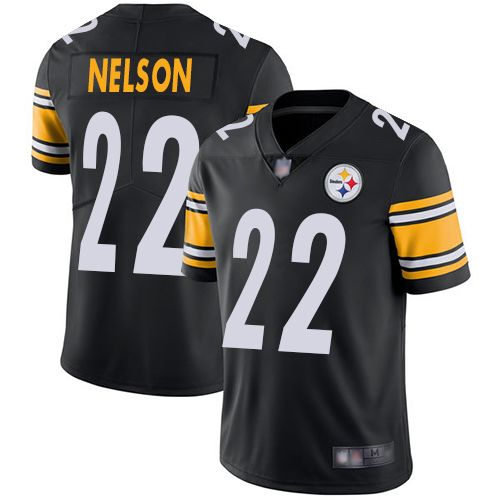 Youth Pittsburgh Steelers Steven Nelson #22 NFL Vapor limited Black Jersey