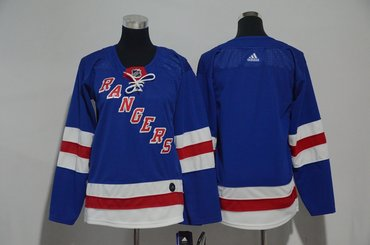 Youth Rangers Blank Blue Youth Adidas Jersey