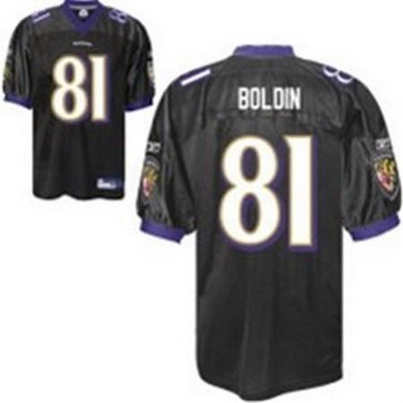 anquan boldin baltimore ravens 81 jersey black sewed