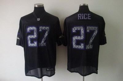 baltimore ravens #27 ray rice black [2011 united sideline ]