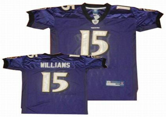baltimore ravens 15 laquan williams purple jersey