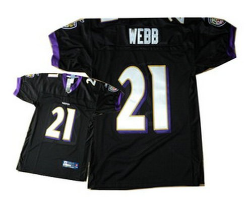 baltimore ravens 21 lardarius webb authentic black