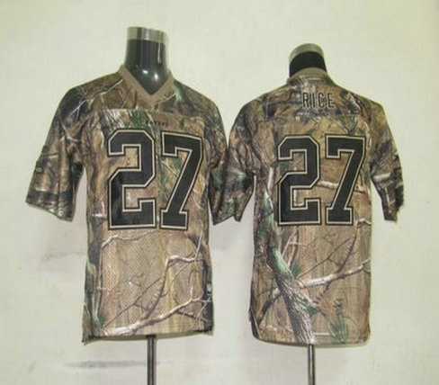 baltimore ravens 27 ray rice camo kids jerseys