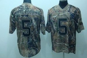 baltimore ravens 5 joe flacco camo realtree jerseys