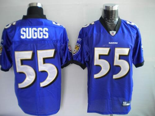 baltimore ravens 55 terrell suggs purple jerseys