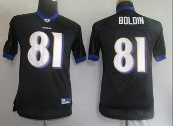 baltimore ravens 81# boldin black kids