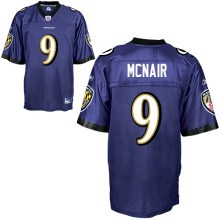 baltimore ravens 9 steve mcnair team color jerseys