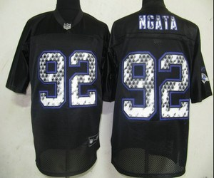 nfl baltimore ravens 92 ngata black united sideline jerseys