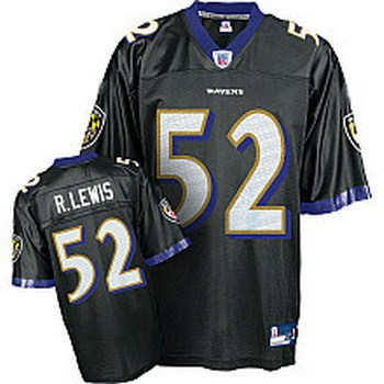 nfl jerseys baltimore ravens 52 r lewis black authentic jerseys