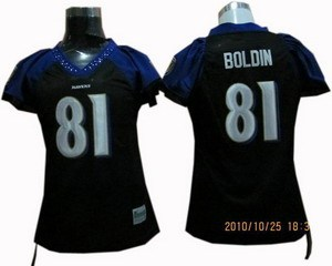 women baltimore ravens 81 anquan boldin jerseys black