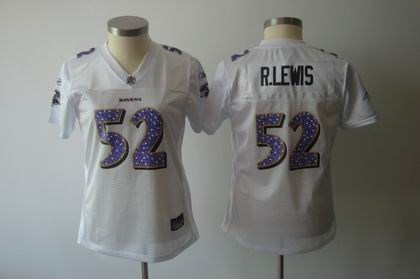 womens sweetheart baltimore ravens 52 ray lewis white