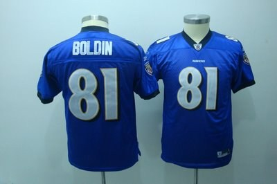 youth jerseys baltimore ravens 81# boldin purple