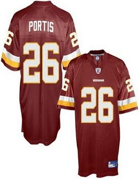 youth jerseys washington redskins 26 clinton portis red