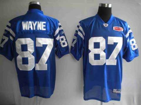 youth nfl jerseys 2010 super bowl indianapolis colts 87 reggie wayne blue 2010