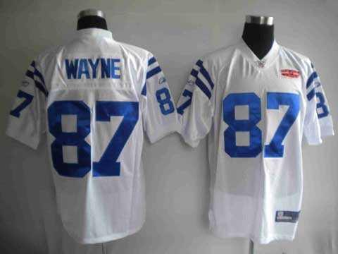 youth nfl jerseys 2010 super bowl indianapolis colts 87 reggie wayne white